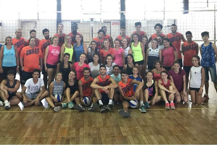 VOLEY, ALMA JUNIORS, OBRAS SAN JUAN
